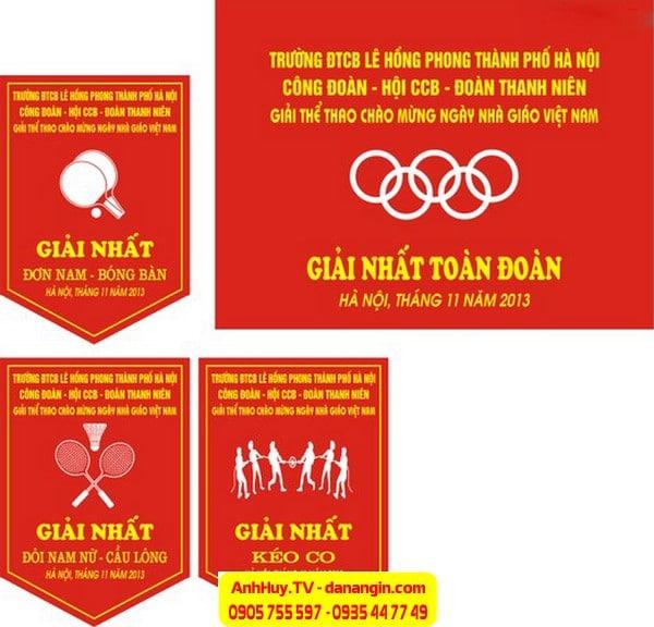 cờ lưu niệm giao lưu bóng đá tại Đà Nẵng ANH HUY TV 0935 44 77 49 - 0901 99 40 88