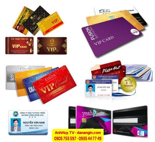 ANH HUY IN thẻ nhựa ĐÀ NẴNG lấy gấp giá rẻ 0935 44 77 49 - 0901 99 40 88