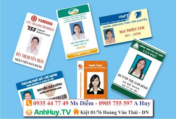 in thẻ nhựa lấy ngay lấy nhanh tại Đà Nẵng 0935447749 - 0905755597