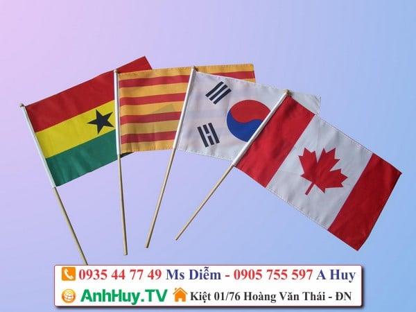 Cờ Cầm Tay Du Lịch Tour Guide Hand Held Flag 0935447749 Xuân Diễm