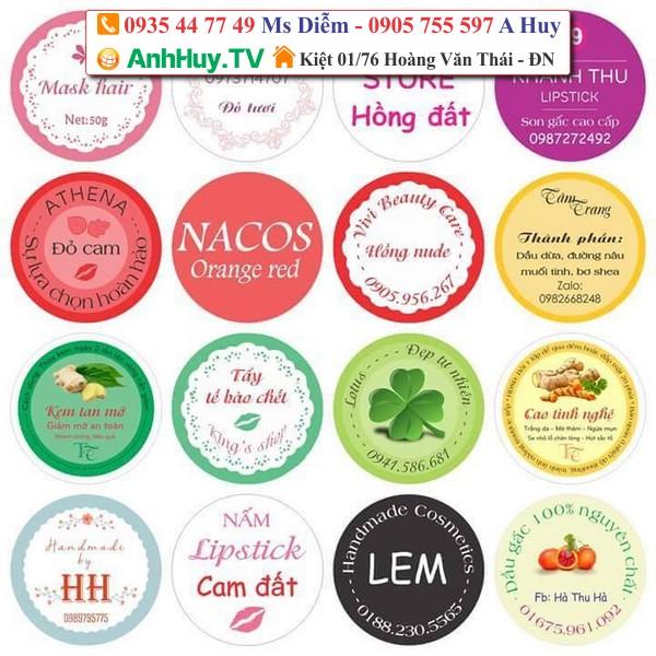 In Sticker Đà Nẵng 0935 44 77 49 Xuân Diêm