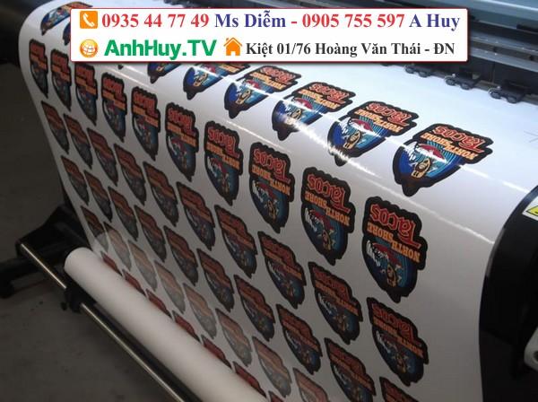 Anh Huy TV nhận in tem dán sản phẩm tại Đà Nẵng với giá hấp dẫn LH : 0935447749 Xuân Diễm