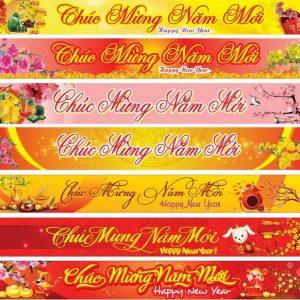 Băng rôn Chúc Mừng Năm Mới giá rẻ tại Đà Nẵng 0935447749 Xuân Diễm | ANH HUY TV
