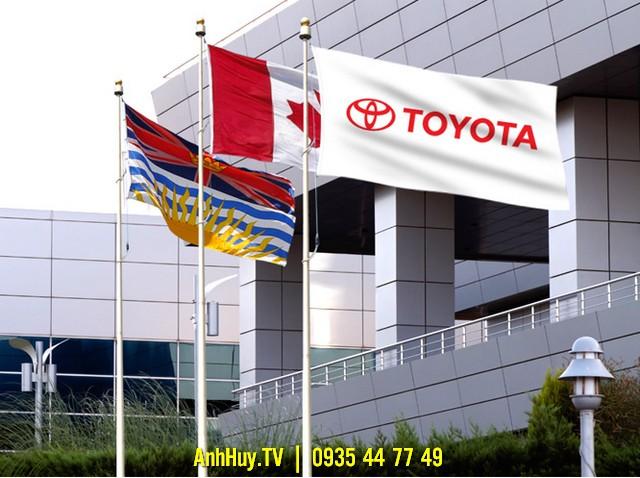 Cờ công tylà cờ in logo, slogan, thương hiệu 0905755597 Anh Huy TV