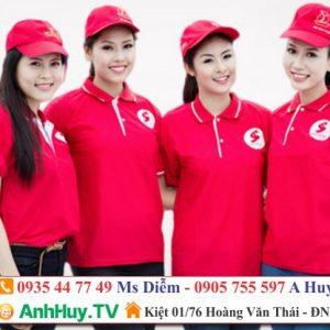 Đồng Phục Giá Rẻ Tại Đà Nẵng LH 0935447749 Xuân Diễm | QUẢNG CÁO ANH HUY TV