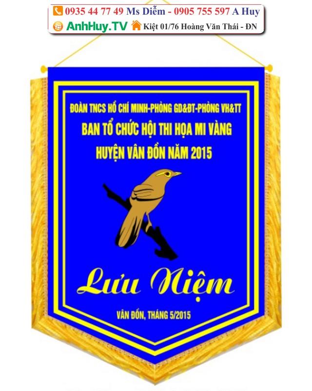 In cờ vải tại Đà Nẵng 0905755597 Anh Huy thiết kế in ấn cờ công ty tại Miền Trung