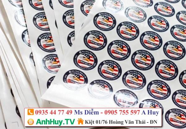 In Decal chất lượng giá tốt tại Đà Nẵng 0935447749 ANHHUY.TV