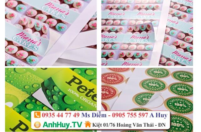 In Decal Giấy Tại Đà Nẵng QUẢNG CÁO ANH HUY TV 0935447749 XUÂN DIỄM,