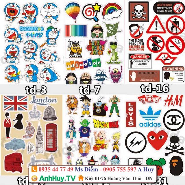Sticker Đà Nẵng Giá Rẻ Tại Xưởng In Anh Huy TV 0935447749 Xuân Diễm