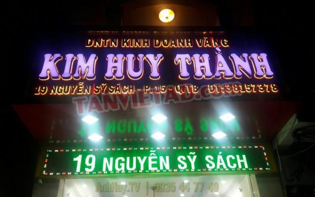 Bảng Hiệu Led Đổi Màu Ở Đà Nẵng TEL : 0905755597 ANH HUY