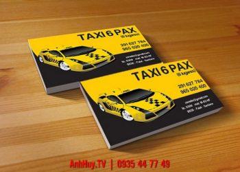 Tổng hợp mẫu name card visit danh thiếp taxi xe tải xe khách đẹp tại Đà Nẵng giá rẻ