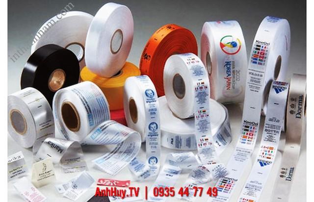 In Nhãn Vải Đà Nẵng Nhãn Size Áo In Logo Lên Nhãn Vải Các Loại Liên Hệ : 0935 447749 Xuân Diễm,