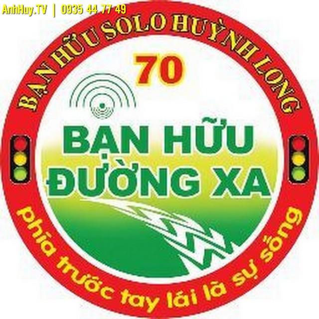 Logo Bạn Hữu Đường Xa Tại Đà Nẵng Thiết kế in ấn logo dán xe giá rẻ 0935447749