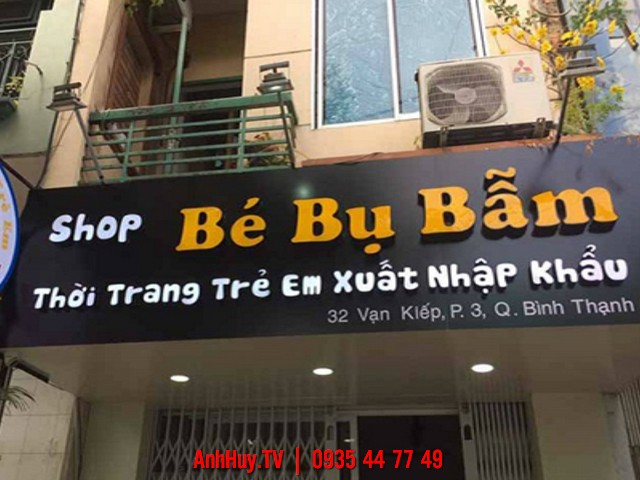 Báo Giá Bảng Hiệu Alu Tại Đà Nẵng 0905755597 ANH HUY TV