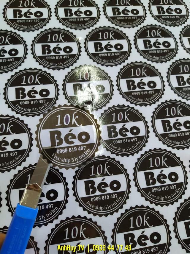 In Decal Sticker Tại Liên Chiểu bởi Anh Huy TV 0905755597