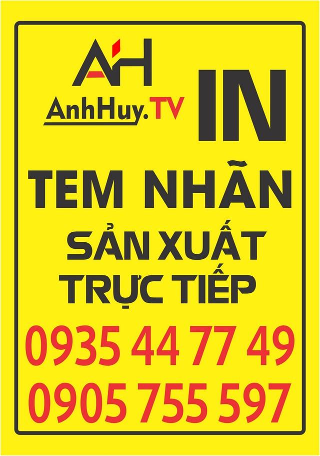 In decal logo sticker dán sản phẩm tại Đà Nẵng giá rẻ, Liên Hệ 0935447749 Xuân Diễm