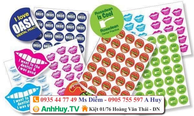 Xưởng In Tem Nhãn Nhãn Mác Tại Đà Nẵng Đến Với Quảng Cáo Anh Huy TV 0905755597