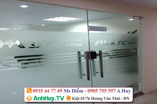 Dịch Vụ Dán Decal Cửa Kính Công Ty Tại Đà Nẵng Giá Rẻ Nhanh 0935447749