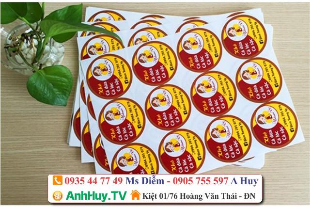 In Nhãn Mác Đà Nẵng Tại Quảng Cáo Anh Huy Tv
