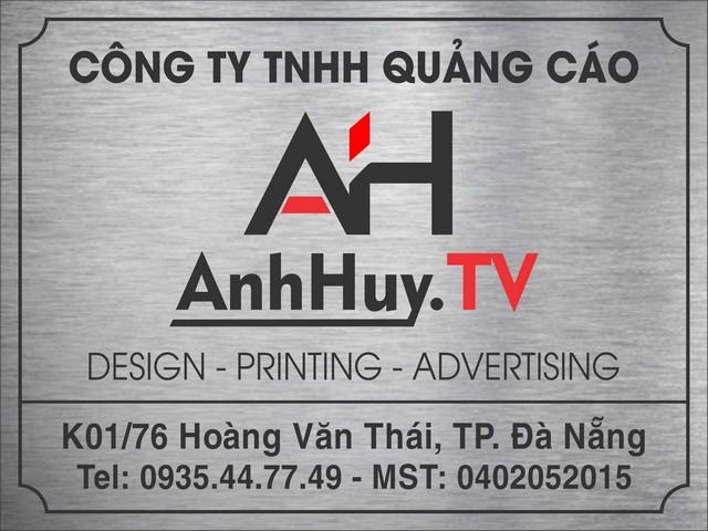 Làm bảng hiệu công ty tại Đà Nẵng 0905755597