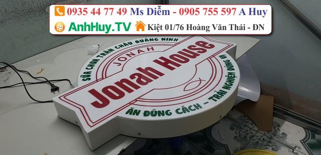 Làm Bảng Hiệu Hộp Đèn Sữa Chua Trân Châu Quảng Ninh Tại Đà Nẵng Giá Rẻ 0935447749