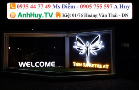 Làm Bảng Quảng Cáo Tại Đà Nẵng Tiên Sa Retreat Giá Rẻ 0705444489