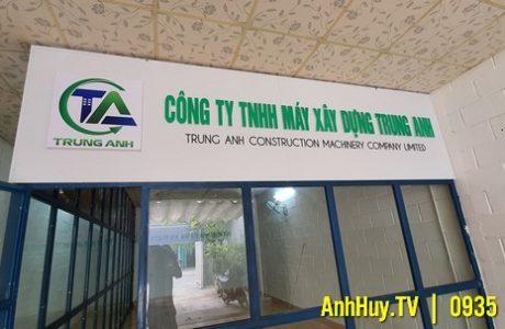 Thi Công Lắp Đặt Bộ Chữ Nổi Mica Công Ty TNHH Máy Xây Dựng Trung Anh 0706755597