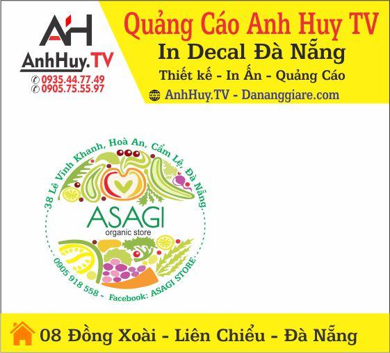 In sticker dán, tem decal dán giá rẻ theo yêu cầu tại Đà Nẵng