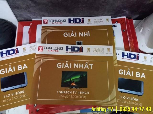 IN BẢNG TRAO GIẢI BỒI FOMEX TẠI ĐÀ NẴNG 0935447749 anhhuy.tv