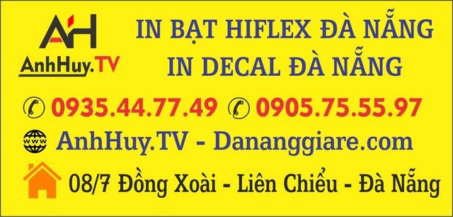 In bạt hiflex giá rẻ tại Đà Nẵng
