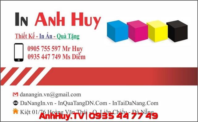 In Card Visit Đà Nẵng Giá Rẻ 0935447749 Xuân Diễm