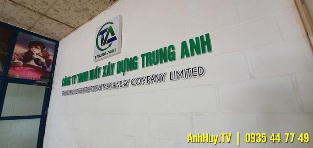 Làm bảng Hiệu Công Ty Ở Đà Nẵng 0935447749 Anh Huy TV