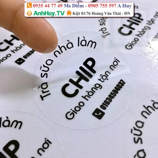 Tem Nhãn Trà Sữa Đà Nẵng 0935447749 Xuân Diễm