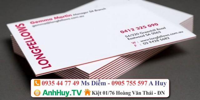 In Name Card Visit Danh Thiếp Tại Đà Nẵng
