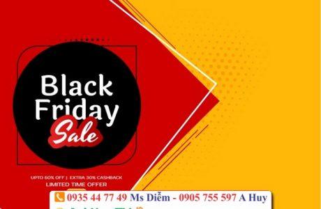In decal dán kính black friday gía rẻ tại Đà Nẵng 0905755597