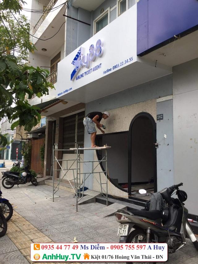 Thi công bảng hiệu quảng cáo Sky88 Đà Nẵng 0905755597