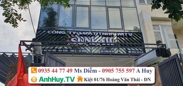 Làm bảng hiệu quảng Công Ty Luật TNHH MTV Sunlaw Tại Đà Nẵng