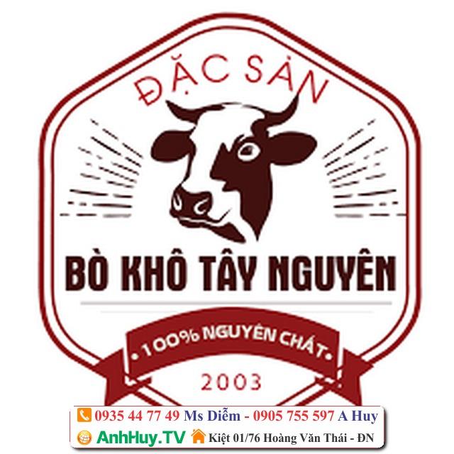 In tem nhãn bò khô nhà làm tại Đà Nẵng giá rẻ 247