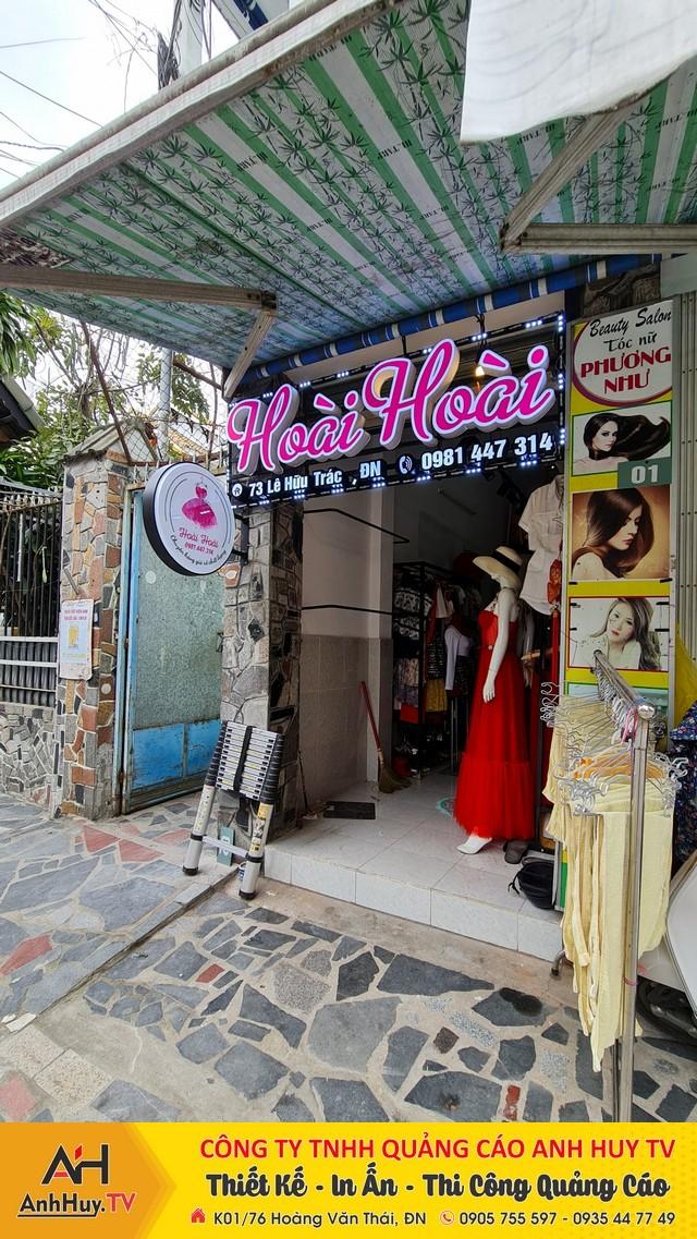 Bảng hiệu quảng cáo Đà Nẵng Alu Led Mica Hiflex hộp đèn chữ nổi giá rẻ 0905755597