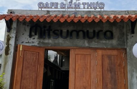 Làm bảng hiệu cafe và ẩm thực Mitsumura tại Đà Nẵng giá rẻ