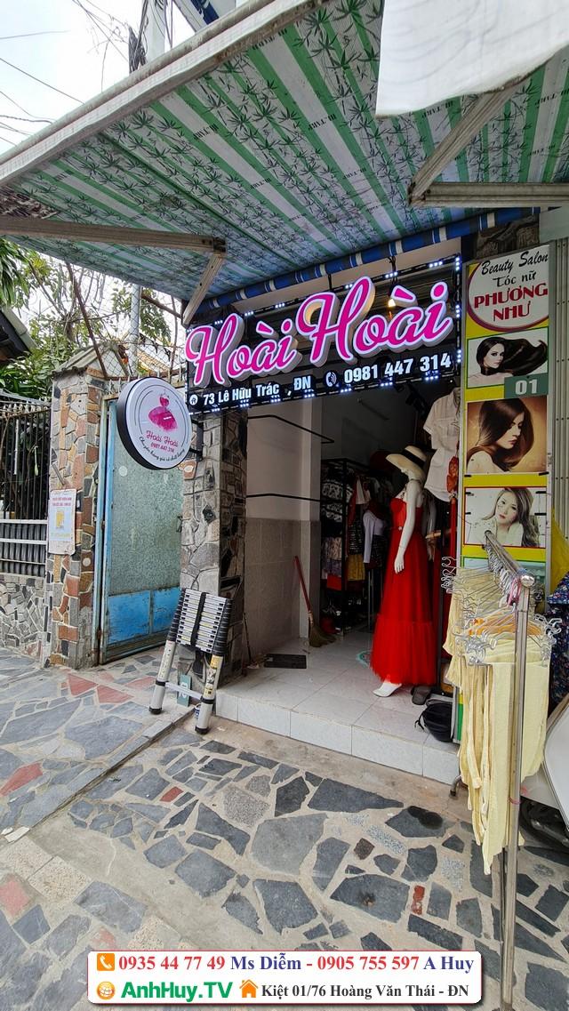Làm bảng hiệu shop cửa hàng thời trang Hoài Hoài Đà Nẵng