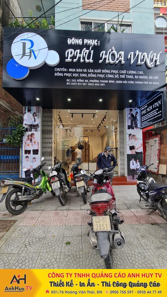 Bảng Hiệu Alu Chữ Nổi tại Đà Nẵng 0905755597 Anh Huy