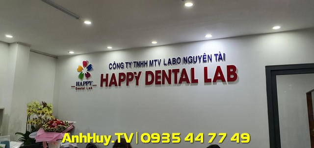 Làm bảng hiệu hộp đèn chữ nổi alu led mica hiflex tại Đà Nẵng giá rẻ 247