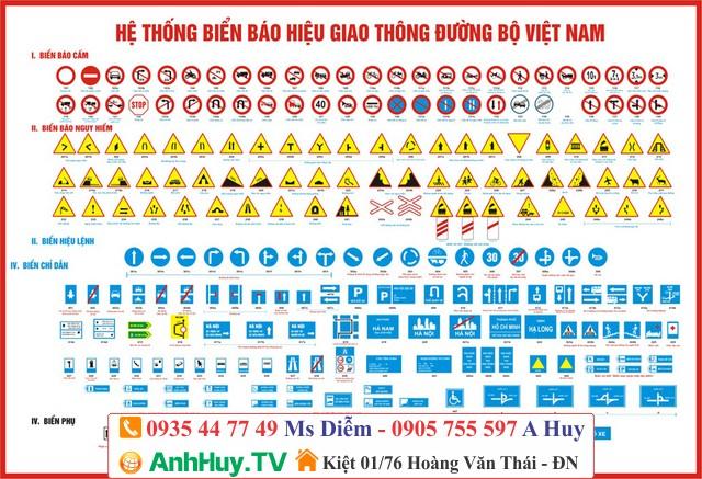 Làm biển báo giao thông công trình theo nội dung yêu cầu 0905755597
