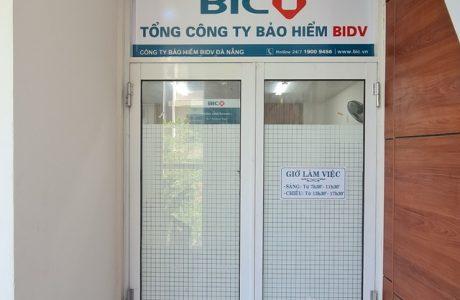 In decal dán kính Tổng Công Ty Bảo Hiểm BIDV BIC