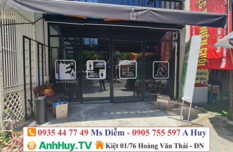 In decal dán kính trang trí tại Đà Nẵng giá rẻ nhanh chóng