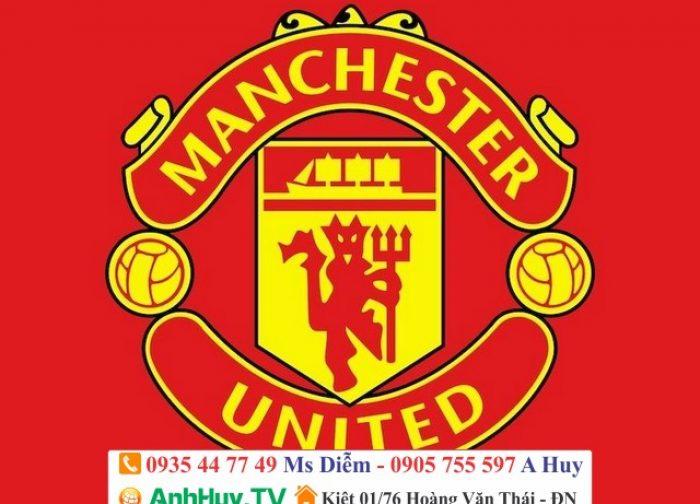 In Logo Manchester United ép áo thun thể thao