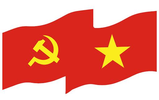 Làm cờ đảng và cờ tổ quốc Việt Nam